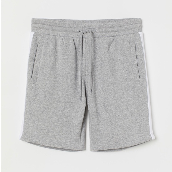 H&M Other - Grey Mens Sweat shorts -New